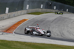 June 22, 2018 - Elkhart Lake, Wisconsin, United States of America - WILL POWER (12) of Australia takes to the track to practice for the KOHLER Grand Prix at Road America in Elkhart Lake, Wisconsin. (Credit Image: © Justin R. Noe Asp Inc/ASP via ZUMA Wire)