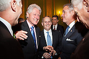 Former President Bill Clinton joins others in celebrating An Evening Honoring Democratic Leadership Council Founder Al From at Andrew W. Mellon Auditorium in Washington D.C. on June 16, 2009
