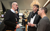 AMSTERDAM - Nationaal Golf Congres & Beurs 2015. links Mark Metgod. NVG FOTO KOEN SUYK