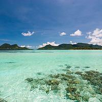 Pulau Bohey Dulang and Pulau Bodgaya, Sabah, Borneo, East Malaysia, South East Asia