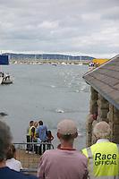 Dun Laoghaire Harbour swim competition<br />