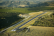 Oliveira_MG, Brasil...Aereas da conclusao da obra do Aeroporto de Oliveira...The construction of the Oliveira airport...Foto: BRUNO MAGALHAES /  NITRO