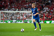 Slovakia (15) Thomas HUBOCAN during the FIFA World Cup Qualifier match between England and Slovakia at Wembley Stadium, London, England on 4 September 2017. Photo by Sebastian Frej.