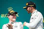June 8-11, 2017: Canadian Grand Prix. Lewis Hamilton (GBR), Mercedes AMG Petronas Motorsport, F1 W08, Valtteri Bottas (FIN), Mercedes AMG Petronas Motorsport, F1 W08