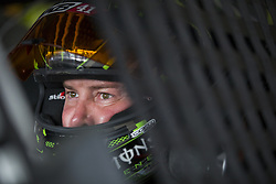 June 1, 2018 - Long Pond, Pennsylvania, United States of America - Kurt Busch (41) hangs out in the garage during practice for the Pocono 400 at Pocono Raceway in Long Pond, Pennsylvania. (Credit Image: © Justin R. Noe Asp Inc/ASP via ZUMA Wire)