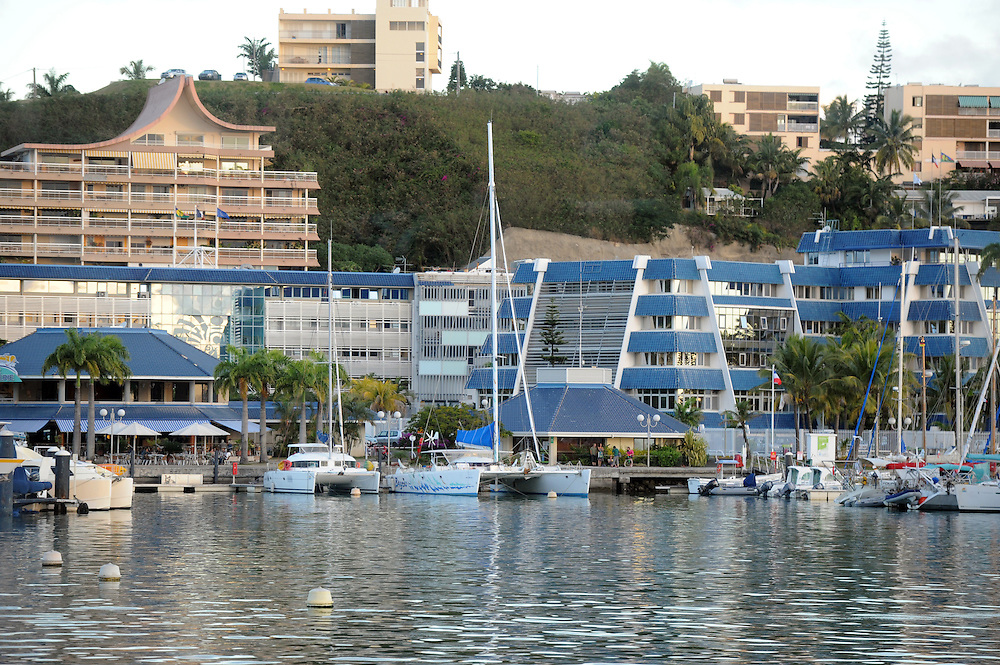 Port Moselle, Pacific Mission 2012, Noumea, New Caledonia, Thursday, July 26, 2012. Credit:SNPA / Ross Setford