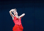 Anna Karenina<br /> The Mariinsky Ballet <br /> Choreography by <br /> Alexei Ratmansky<br /> at The Royal Opera House, Covent Garden, London, Great Britain <br /> Press photocall <br /> 3rd August 2017 <br /> <br /> Diana Vishneva as Anna Karenina<br /> <br /> <br /> Photograph by Elliott Franks <br /> Image licensed to Elliott Franks Photography Services