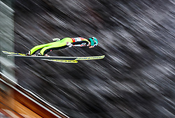 19.01.2018, Heini Klopfer Skiflugschanze, Oberstdorf, GER, FIS Skiflug Weltmeisterschaft, Einzelbewerb, im Bild Michael Hayboeck (AUT) // Michael Hayboeck of Austria during individual competition of the FIS Ski Flying World Championships at the Heini-Klopfer Skiflying Hill in Oberstdorf, Germany on 2018/01/19. EXPA Pictures © 2018, PhotoCredit: EXPA/ JFK