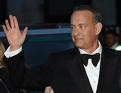 Tom Hanks arriving for the premiere of his new film Captain Phillips on the opening night of the London Film Festival, Wednesday, 9th October 2013. Picture by Stephen Lock / i-Images