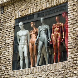 Europe - Turkey - Istanbul - mannequin district