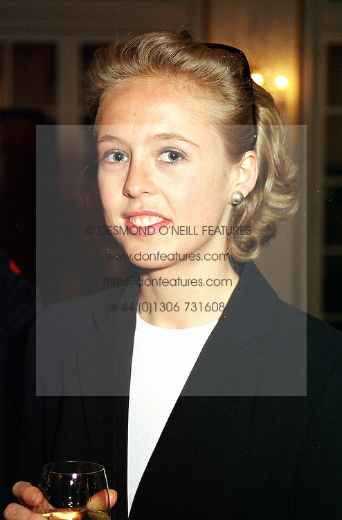 LADY ALEXANDRA SPENCER-CHURCHILL at a<br />  party in London on 13th June 2000.OFC 21<br /> © Desmond O'Neill Features:- 020 8971 9600<br />    10 Victoria Mews, London.  SW18 3PY <br /> www.donfeatures.com   photos@donfeatures.com<br /> MINIMUM REPRODUCTION FEE AS AGREED.<br /> PHOTOGRAPH BY DOMINIC O'NEILL