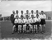 22/05/1954<br /> 05/22/1954<br /> 22 May 1954<br /> Soccer: Liverpool Youths v Irish Youths at Dalymount Park, Dublin. The Irish Youths team that was defeated by the Liverpool Youths.