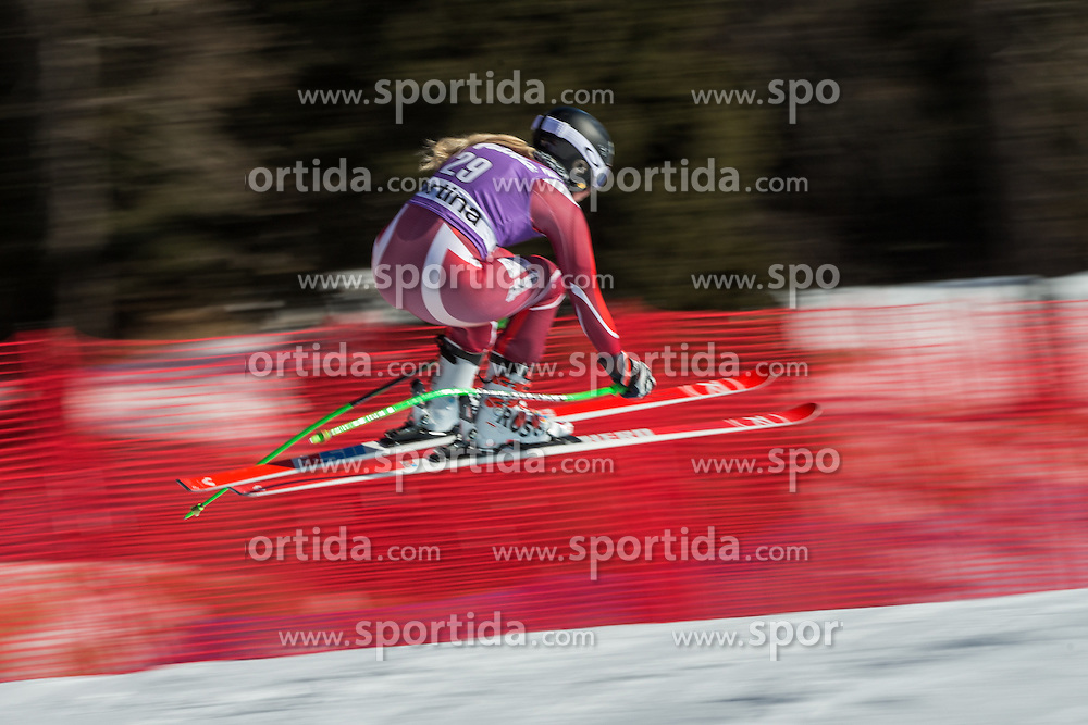 22.01.2016, Olympia delle Tofane, Cortina d Ampezzo, ITA, FIS Weltcup Ski Alpin, Abfahrt, Damen, 2. Training, im Bild Ragnhild Mowinckel (NOR) // Ragnhild Mowinckel of Norway competes in the 2nd training run for the ladies Downhill of the Cortina FIS Ski Alpine World Cup at the Olympia delle Tofane course in Cortina d Ampezzo, Italy on 2016/01/22. EXPA Pictures © 2016, PhotoCredit: EXPA/ Johann Groder