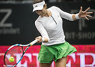 Garbine Muguruza (ESP) during the quarter finals of the WTA Generali Ladies Linz Open at TipsArena, Linz<br /> Picture by EXPA Pictures/Focus Images Ltd 07814482222<br /> 14/10/2016<br /> *** UK &amp; IRELAND ONLY ***<br /> <br /> EXPA-REI-161014-5012.jpg