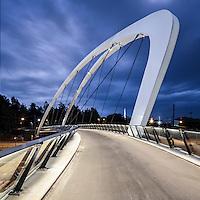 Auroransilta pedestrian bridge