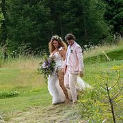 NLD/Kraggenburg/20190622 - Getrouwde Freek van Noortwijk en Katja Schuurman,