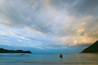 Sunset from Ao Thong Nai Pan Yai beach Ko (Koh) Phangnan (Phangan) Gulf of Thailand Thailand&#xA;<br />