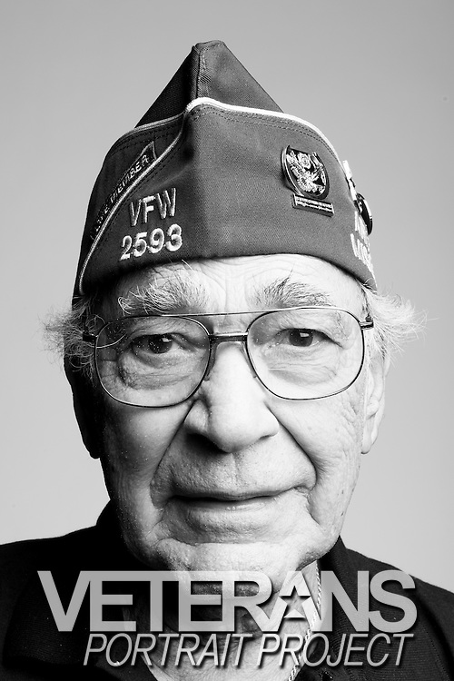 Joseph Randazzo<br /> Army<br /> E-4<br /> Infantry<br /> 1942 - 1945<br /> WWII (European Theater)<br /> D-Day, Battle of the Bulge, Bridge of Remagen<br /> <br /> Veterans Portrait Project<br /> St. Louis, MO