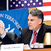 "Timothy Roemer. Panel: ""Outline of the 9/11 Plot."" The 9/11 Commission's 12th public hearing on ""The 9/11 Plot"" and ""National Crisis Management"" was held June 16-17, 2004, in Washington, DC."