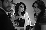 IGNAZIO CORACI ; JAMILA ASKAROVA, MILA ASKAROVA at the Whitechapel Gallery Art Icon 2015 Gala dinner supported by the Swarovski Foundation. The Banking Hall, Cornhill, London. 19 March 2015