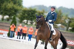 Hosmar Frank, (NED), Alphaville NOP<br /> Grade IV Team Test<br /> Para-Dressage FEI European Championships Deauville 2015<br /> © Hippo Foto - Jon Stroud<br /> 18/09/15