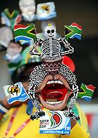 Fotball<br /> Tyskland v Sør Afrika<br /> Foto: Witters/Digitalsport<br /> NORWAY ONLY<br /> <br /> 05.09.2009<br /> <br /> Supporter Sør Afrika<br /> Testspiel Deutschland - Suedafrika 2:0
