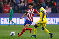 Atletico de Madrid´s Savic during Champions League soccer match between Atletico de Madrid and FC Astana at Vicente Calderon stadium in Madrid, Spain. October 21, 2015. (ALTERPHOTOS/Victor Blanco)