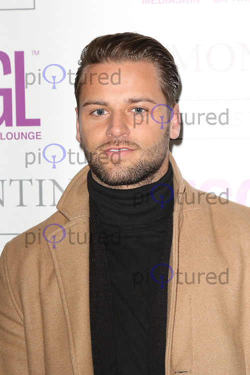 James Hill, MediaSkin Gifting Lounge, Salmontini Le Resto, London UK, 19 January 2015, Photo by Richard Goldschmidt