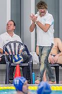 07-12-2013 : WATERPOLO : AZC - GZC DONK : ALPHEN AD RIJN<br /> <br /> Coach Ron vd Wild van AZC<br /> Eredivisie Heren - Seizoen 2013 / 2014<br /> <br /> Foto: Gertjan Kooij