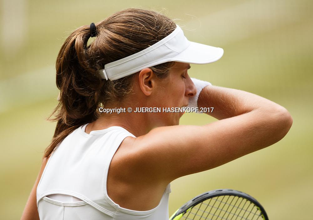 JOHANNA KONTA (GBR)<br /> <br /> Tennis - Wimbledon 2017 - Grand Slam ITF / ATP / WTA -  AELTC - London -  - Great Britain  - 13 July 2017.