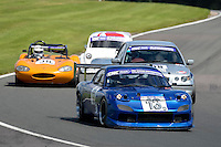 #13 Paul Dobson Mazda Rx7 2600 during the CNC Heads Sports & Saloon Car Championship at Oulton Park, Little Budworth, Cheshire, United Kingdom. August 06 2016. World Copyright Peter Taylor/PSP.