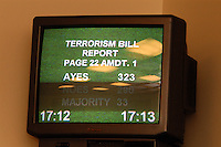LONDON, 9 Nov. 2005...The government voting for the terrorism bill was underway during the meeting....The Justice Foundation Kashmir Centre London together with the All-Party Parliamentary Group (APPG) on Kashmir organised a meeting in the House of Commons entitled ?Kashmir After the Earthquake ? Rebuilding Together.?