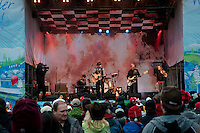 Barney Bentall rocked the Village Square on Day 16 of the 2010 Olympic Winter Games in Whistler, BC Canada.