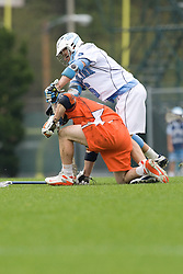 05 April 2008: North Carolina Tar Heels midfielder Fletcher Gregory (6) during a 11-12 OT loss to the Virginia Cavaliers on Fetzer Field in Chapel Hill, NC.