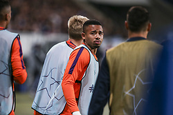 October 2, 2018 - Sinsheim, Germany - Gabriel Jesus, seen standing during the UEFA Champions League group F football match between TSG 1899 Hoffenheim and Manchester City at the Rhein-Neckar-Arena. (Credit Image: © Elyxandro Cegarra/SOPA Images via ZUMA Wire)