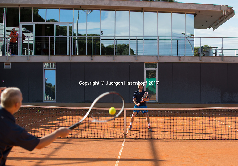 Zischka Tennis Camp Umag  2017<br /> <br /> travel - Zischka Tennis Camp Umag -  -  Melia Coral Hotel - Umag -  - Croatia  - 9 May 2017. <br /> &copy; Juergen Hasenkopf