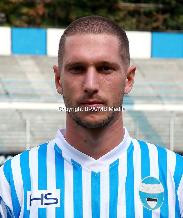 Italian League Serie B -2016-2017 / <br /> ( S.P.A.L 2013 ) - <br /> Tommaso Silvestri