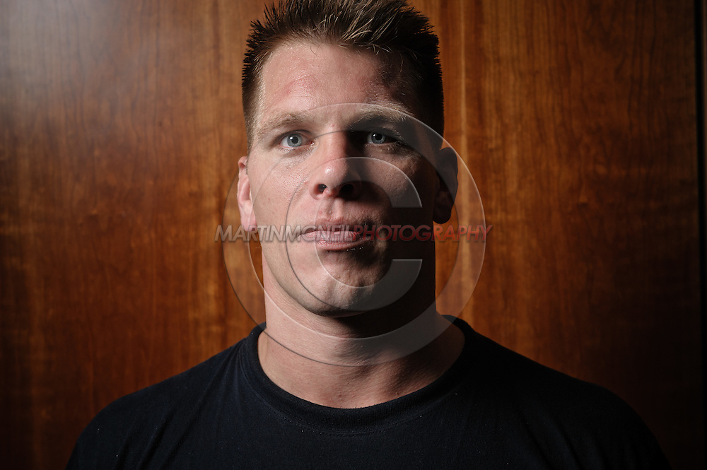 A portrait of mixed martial arts athlete Antoni Hardonk