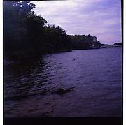 Starved Rock..Yashica D .Kodak Porta 400 film.