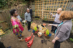 Rejuvenation of Circular Road community garden, London Borough of Haringey, London UK