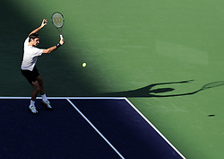 March 14, 2018 - Idian Wells, USA - Indian Wells - Palm Desert - California - Roger Federer Suisse (Credit Image: © Panoramic via ZUMA Press)