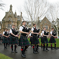 Morrisons Academy Pipe Band
