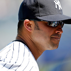 March 4, 2012; Tampa Bay, FL, USA; New York Yankees right fielder Nick Swisher (33) during spring training game against the Philadelphia Phillies at George M. Steinbrenner Field. Mandatory Credit: Derick E. Hingle-US PRESSWIRE