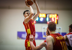 Kljajevic  Marko of Montenegro during basketball match between National teams of Germany and Montenegro in the 11th place Classifications of FIBA U18 European Championship 2019, on August 4, 2019 in Portaria Hall, Volos, Greece. Photo by Vid Ponikvar / Sportida