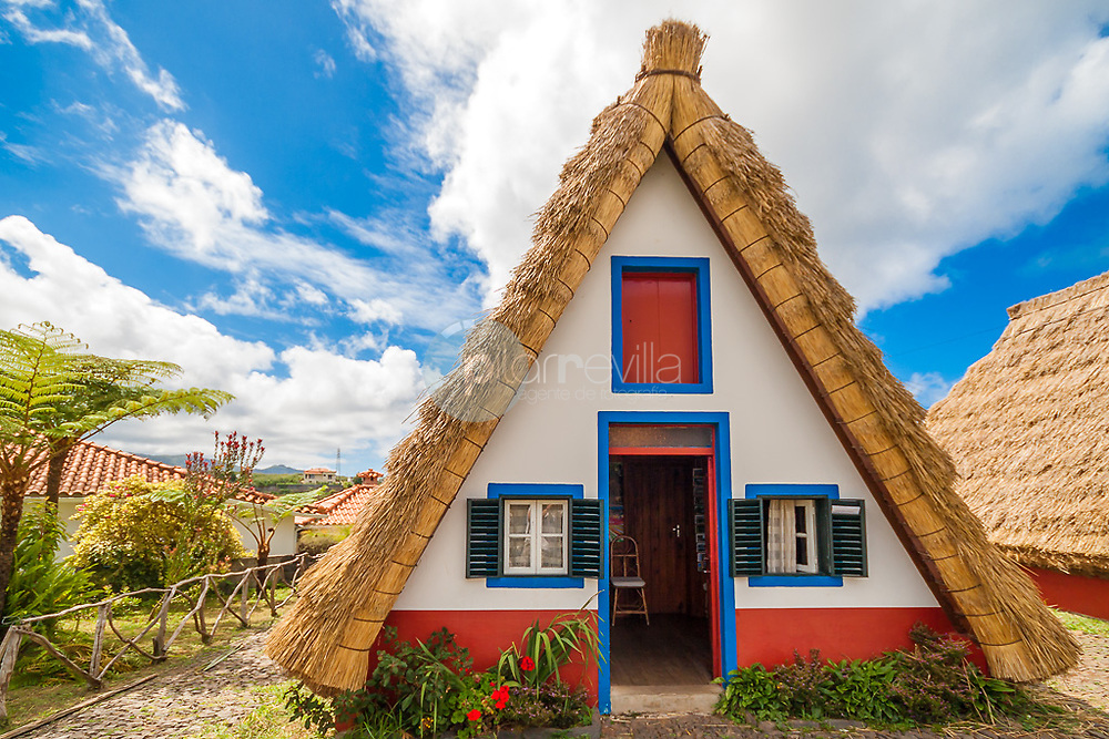 Traditional Santana house, Madeira ©Javier Abad / PILAR REVILLA