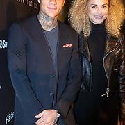 NLD/Amsterdam/20151110 - Life After Football Award 2015, Gregory van der Wiel en partner Stephanie Bertram Rose