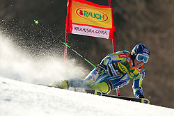 Patrick Jazbec of Slovenia competes during 1st Run of Men's Giant Slalom of FIS Ski World Cup Alpine Kranjska Gora, on March 5, 2011 in Vitranc/Podkoren, Kranjska Gora, Slovenia.  (Photo By Vid Ponikvar / Sportida.com)