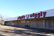 Food deserts in America. A closed Piggly Wiggly grocery store in Durant, Mississippi. Almost half of the people in Durant live in poverty.   (Photo by Karen Pulfer Focht)