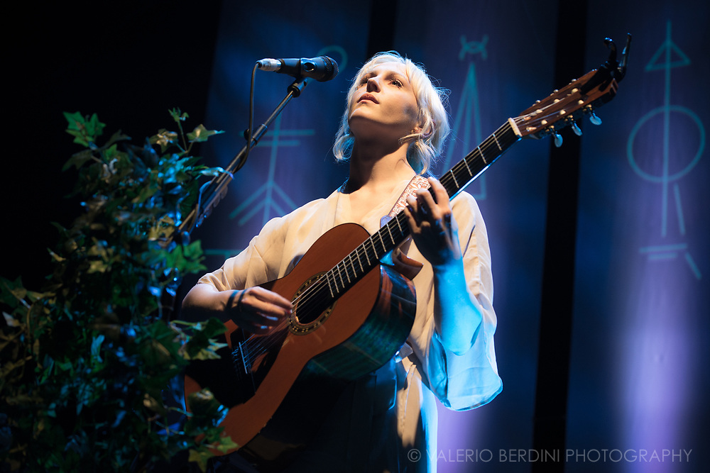 Laura Marling Closing her sold-out tour presenting Semper Femina, the 6th and latest album, at the Roundhouse in Camden Town, London on 21 Mar 2017.