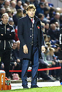 Mauro Milanese, Manager of Leyton Orient, looks on during the Johnstone's Paint Trophy match at the Matchroom Stadium London,<br /> Picture by David Horn/Focus Images Ltd +44 7545 970036<br /> 11/11/2014